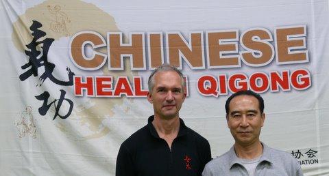 Professor Yang Bailong en Wijnand